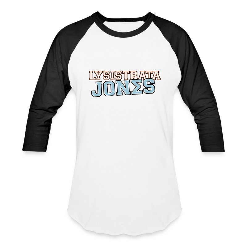 Lysistrata Jones - Baseball T-Shirt