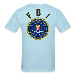 Men's Standard T Back- FBI - Men's T-Shirt