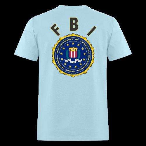 Men's Standard T Back- FBI - Men's T-Shirt