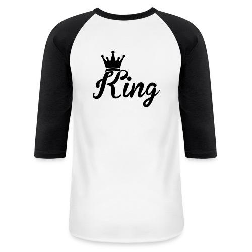 KING - Baseball T-Shirt