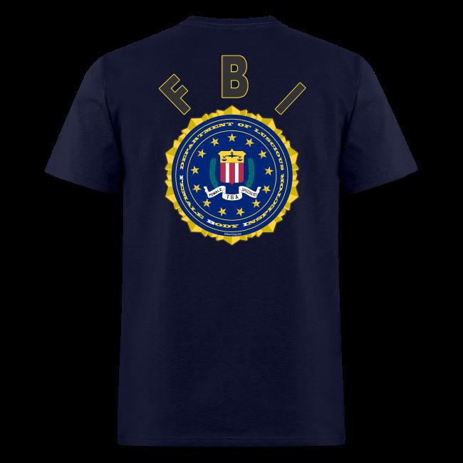 Men's Standard T- FBI Deluxe
