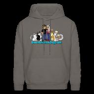 Hoodies ~ Men's Hoodie ~ Snow Dogs Vlogs - Men's Hoodie