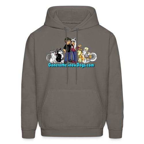 Snow Dogs Vlogs - Men's Hoodie  - Men's Hoodie