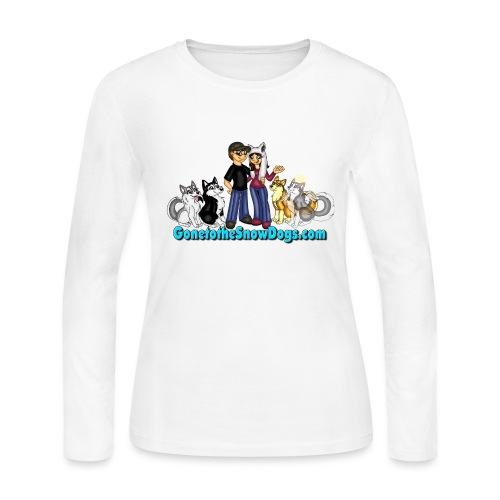 Snow Dogs Vlogs - Women's Long Sleve  - Women's Long Sleeve Jersey T-Shirt