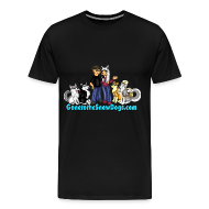 T-Shirts ~ Men's Premium T-Shirt ~ Snow Dogs Vlogs - Available in XXL