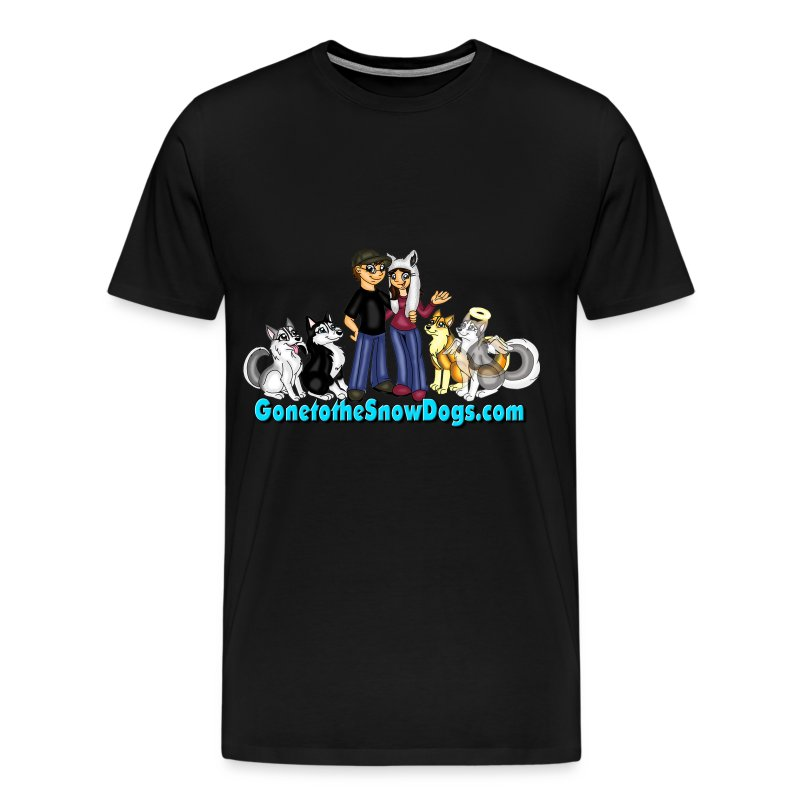 Snow Dogs Vlogs - Available in XXL - Men's Premium T-Shirt