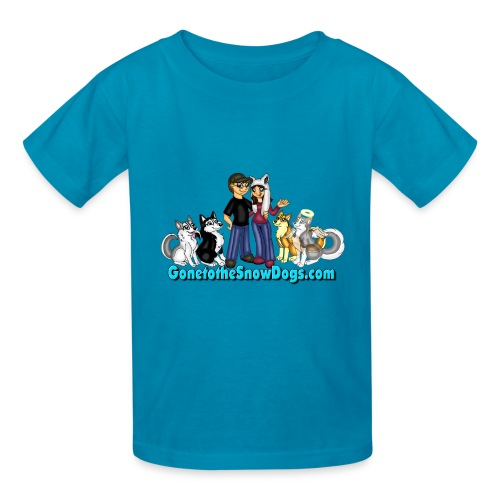 Snow Dogs Vlogs - Kid's T-Shirt  - Kids' T-Shirt