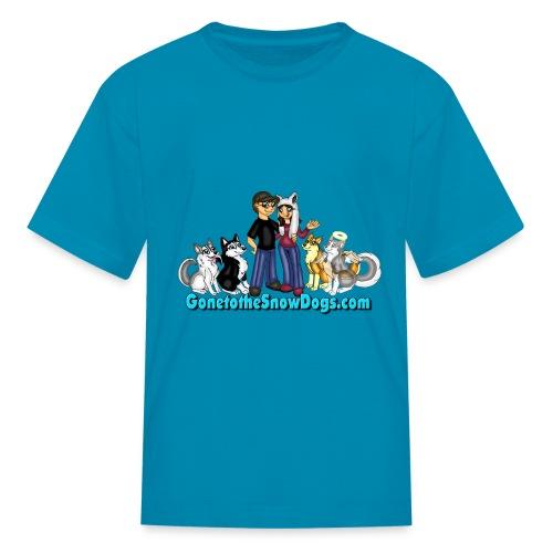 Snow Dogs Vlogs - Kid's T-Shirt  - Kids' T-Shirt