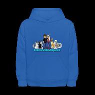 Sweatshirts ~ Kids' Hoodie ~ Snow Dogs Vlogs - Kid's Hoodie