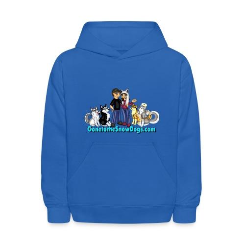 Snow Dogs Vlogs - Kid's Hoodie  - Kids' Hoodie