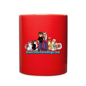 Snow Dogs Vlogs - Color Mug - Full Color Mug