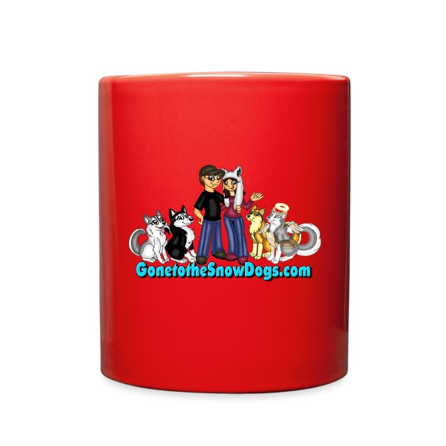 Snow Dogs Vlogs - Color Mug