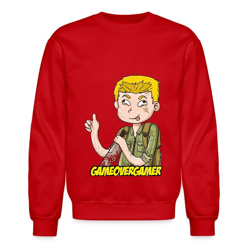Classic GOG Men's Crewneck Sweater - Crewneck Sweatshirt