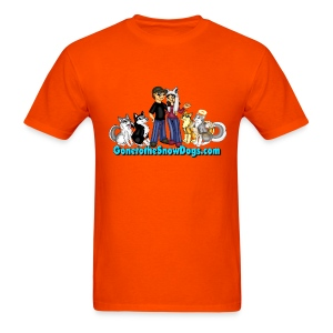 Snow Dogs Vlogs - Men's T-Shirt Standard Weight  - Men's T-Shirt