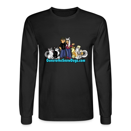 Snow Dogs Vlogs - Men's Long Sleeved  - Men's Long Sleeve T-Shirt