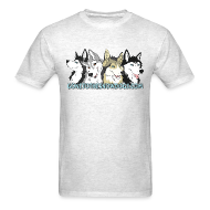 T-Shirts ~ Men's T-Shirt ~ Gone to the Snow Dogs - Men's T-Shirt Standard Weight