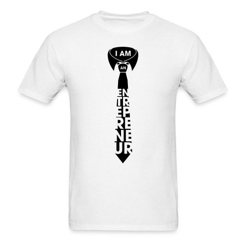 I AM AN ENTREPRENEUR T-Shirt - Men's T-Shirt