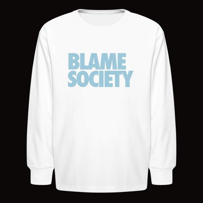 b2a7d5636e1ff9 JORDAN BABY BLUE LONG SLEEVES BLAME SOCIETY