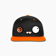 Derpy Crazy Face Cap (Orange)