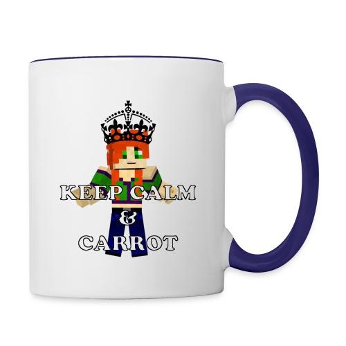 Keep Calm and Carrot Contrast Coffee Mug - Contrast Coffee Mug