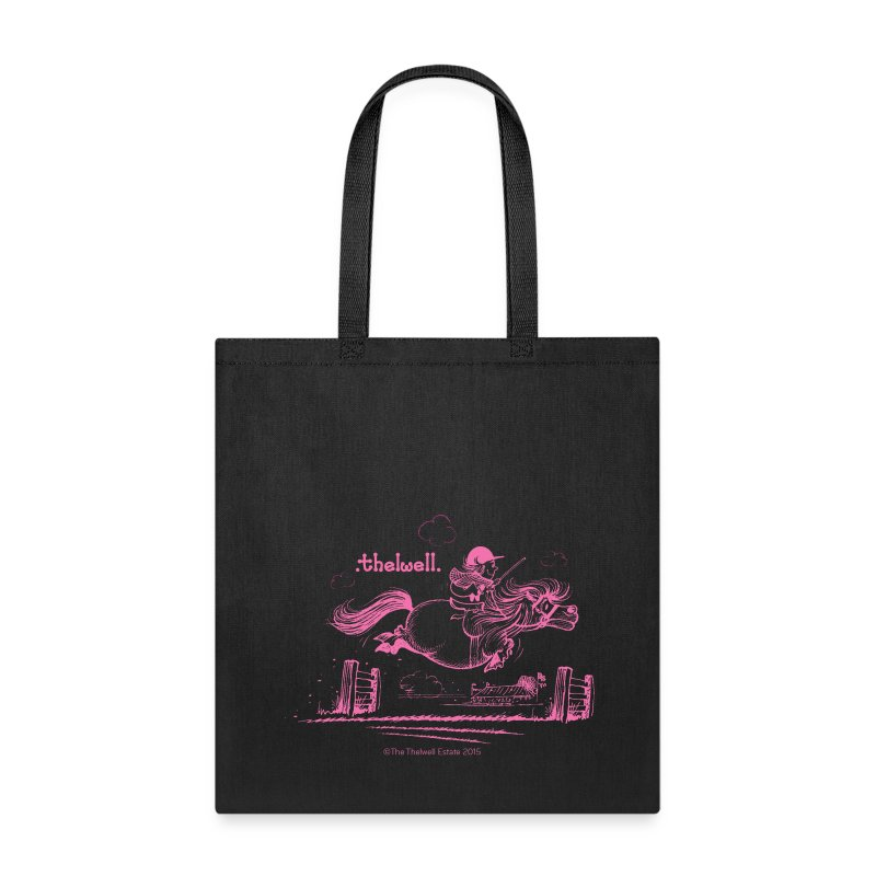PonyJump Pink Thelwell  - Tote Bag