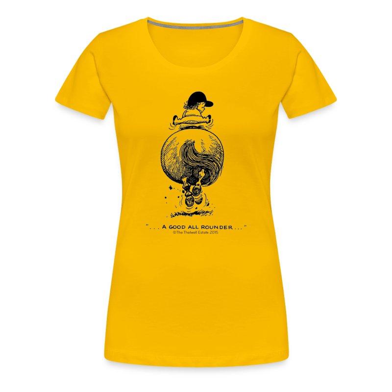 PonyGalopp Thelwell  - Women's Premium T-Shirt