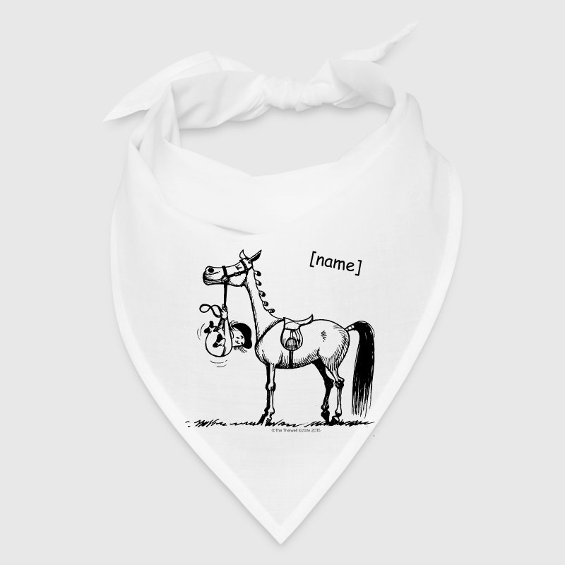 Stubborn Pony Thelwell Cartoon Caps - Bandana
