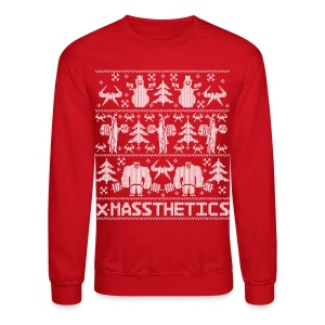 Ugly Christmas Gym Sweater - Crewneck Sweatshirt