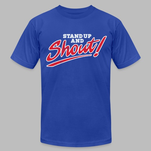 Stand Up and Shout!  - Men's Fine Jersey T-Shirt