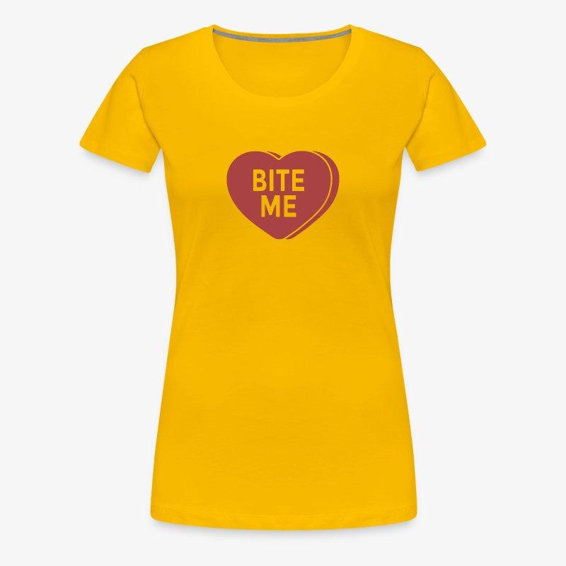 Bite Me - Women's Premium T-Shirt