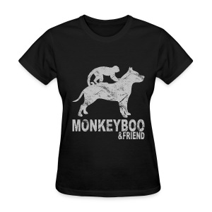 Grunged monkeyboo - Women's T-Shirt