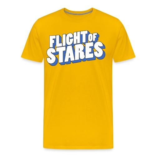 3D Text T-Shirt - Men's Premium T-Shirt
