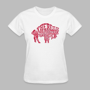 Right Here, Right Now - Women's T-Shirt