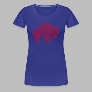Right Here, Right Now - Women's Premium T-Shirt