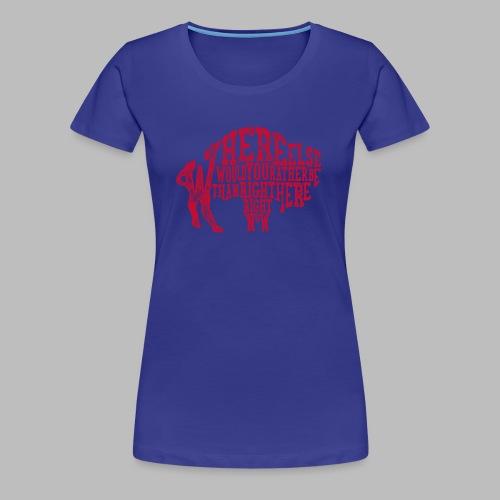 Right Here, Right Now - Women's Premium T-Shirt