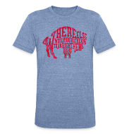 T-Shirts ~ Unisex Tri-Blend T-Shirt ~ Right Here, Right Now