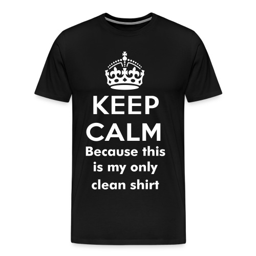 This is my only clean shirt  - Men's Premium T-Shirt