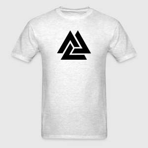 Valknut, Odins Knot, 9 Worlds of Yggdrasil T-shirts - T-shirt pour hommes