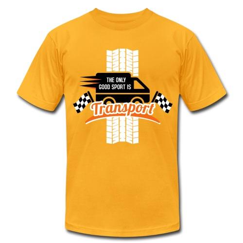 The only good Sport is Transport - Men's Fine Jersey T-Shirt