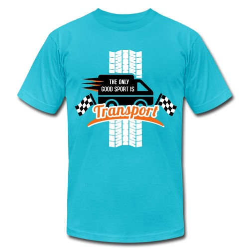 The only good Sport is Transport - Men's Jersey T-Shirt
