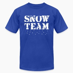 Snow Team, Winter Sports, Skiing, Snowboarding, T-Shirts