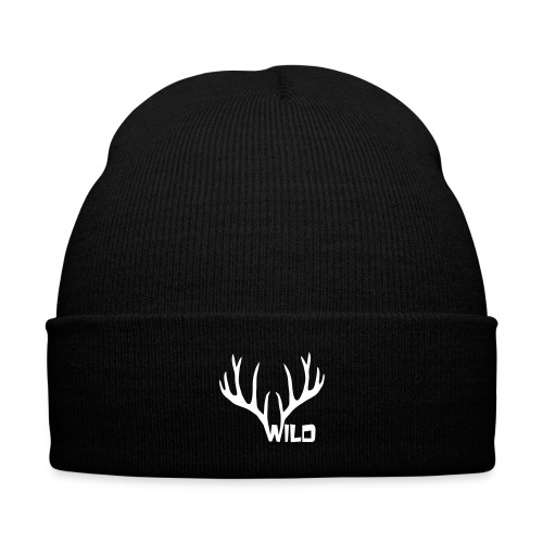 Wild Hood - Knit Cap with Cuff Print