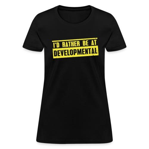 Developmental (Women) - Women's T-Shirt