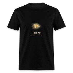 UFO 1350 AD Ancient Astronauts - Men's T-Shirt