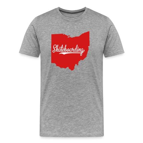 Ohio Skateboarding - Men's Premium T-Shirt