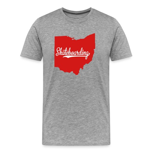 Ohio Skateboarding - Men's Premium T-Shirt