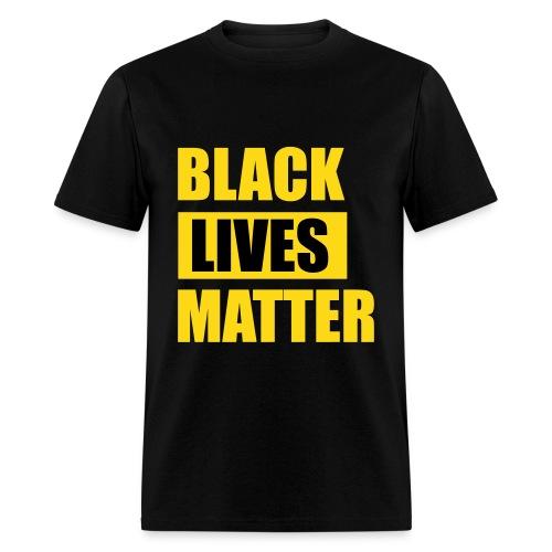 Black Lives Matter Lightweight T Shirt - Men's T-Shirt