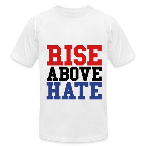 Rise above hate shirt - Men's  Jersey T-Shirt