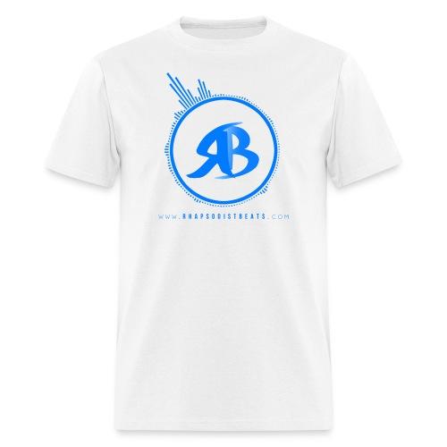 RB White T-Shirt - Men's T-Shirt