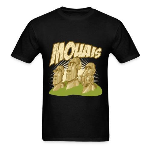 Moai (Mouais) - Men's T-Shirt